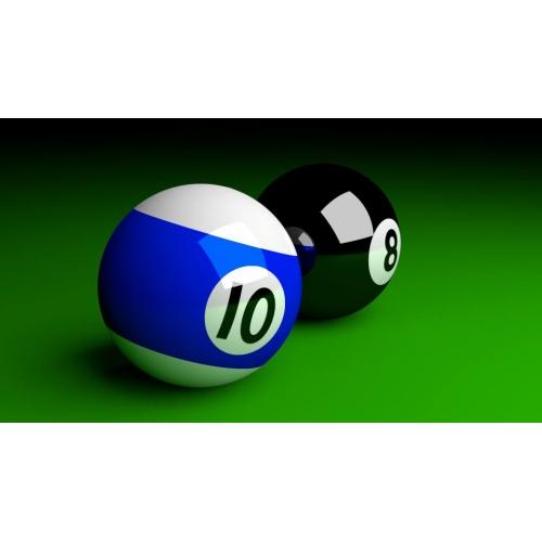 3d cue ball